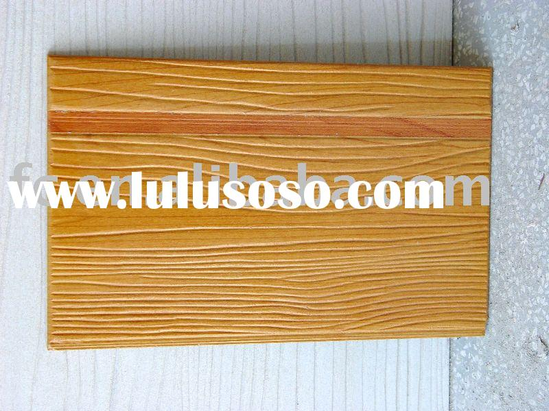 Wood Cement Board : Wood grain fiber cement board for sale price china