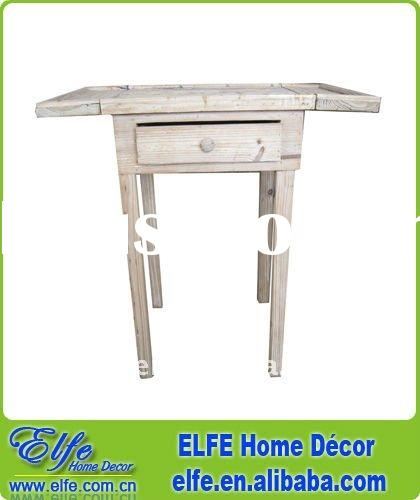 wooden antique folding coffee table