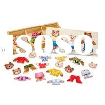 wooden toys/wodoen puzzle