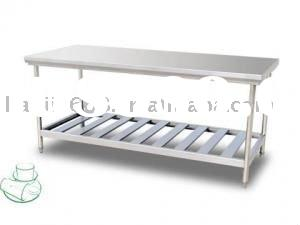 workbench//Stainless Steel kitchen workbench/High quality Stainless steel restaurant kitchen table/