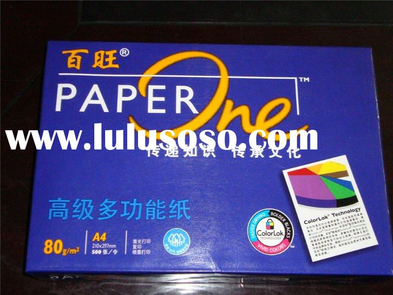 100% wood pulp paper one 80g a4 paper