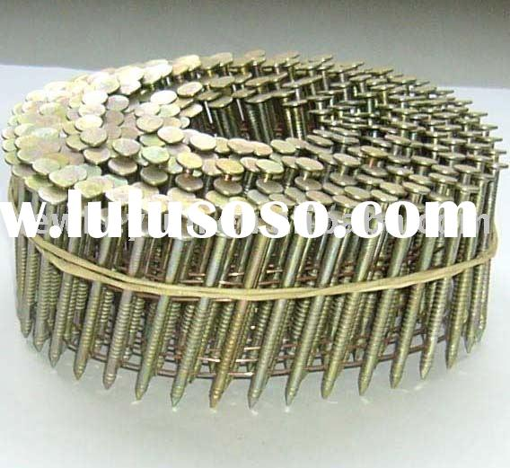 120PCS/COILS Electro Galvanized Coil Roofing Nail