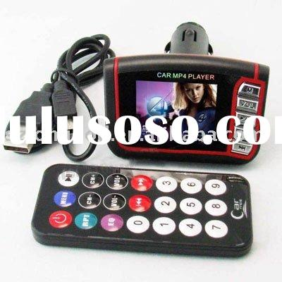 "1.8""LCD Car MP4 Player Wireless FM Transmitter"