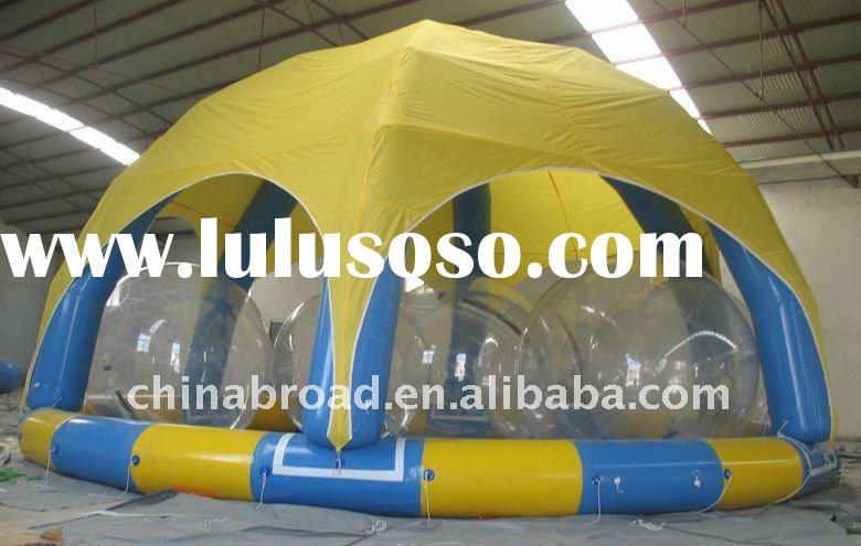 2011 Hot-selling large inflatable pool (YCD-001 6X6m/8x8m)