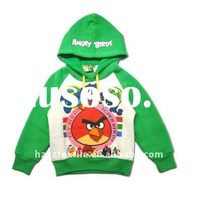 2011 New style fashion designs hot sale long sleeves t-shirt sweatshirt hoodies children clothing