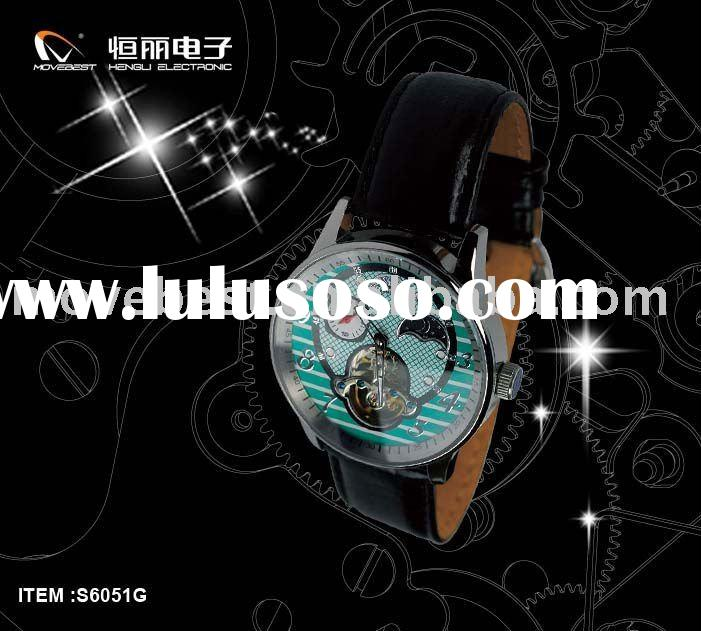 2011 Newest Automatic Stainless Steel Watches Men with CE ROHS