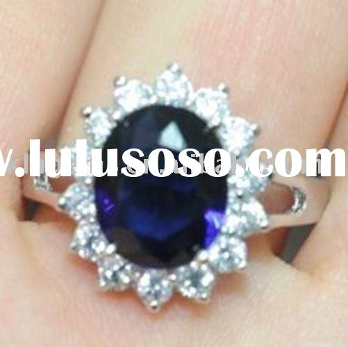 2011 Prince Wiliam And Kate Middleton Engagement Ring, Hot Fashion Jewelry Ring
