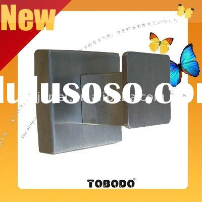 2011 newest wall mounted single robe hook made of 304 stainless steel , round base , 90Wx45Hx75Dmm