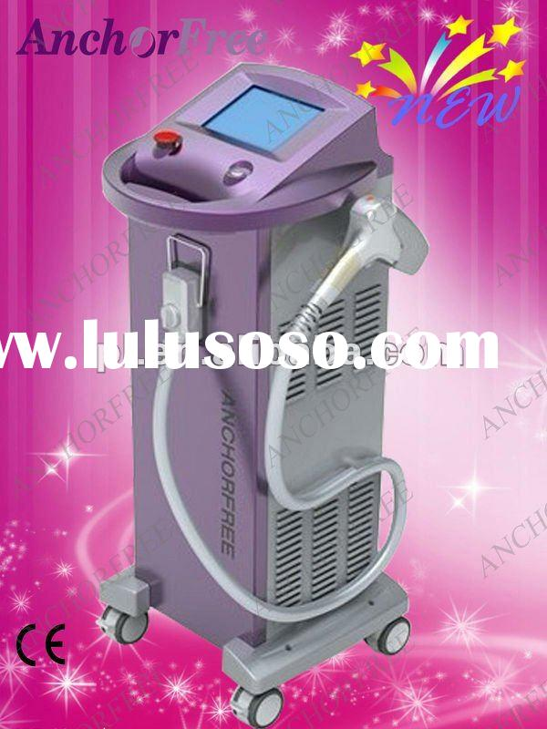 2012 Most Effetive & Safe 808nm Diode Laser Permanent Hair Removal Machine