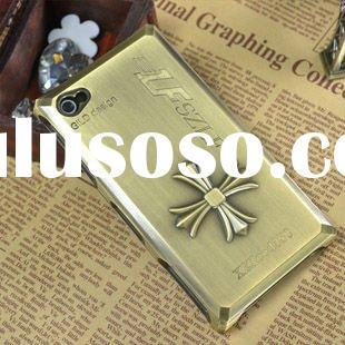 2012 new hot selling hard case for Iphone 4 4S protection shell alufer case metallic case K1005