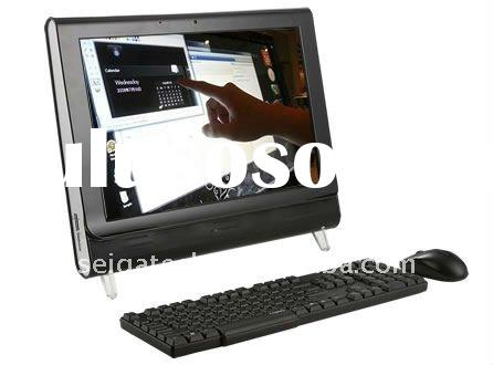 22 inch lcd all in one touch screen pc