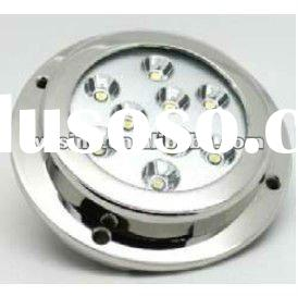 27w high power LED marine light sea lamp boat yacht use IP68 waterproof round retail