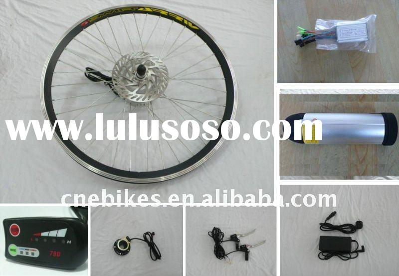 36V 200W LED electric bicycle motor conversion kits
