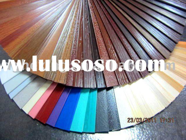 3mm plastic pvc solid laminate edge banding tape for cabinet