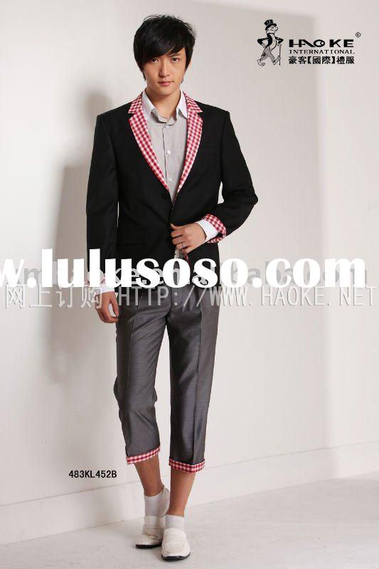 483KL452B casual handsome fine quality man suit