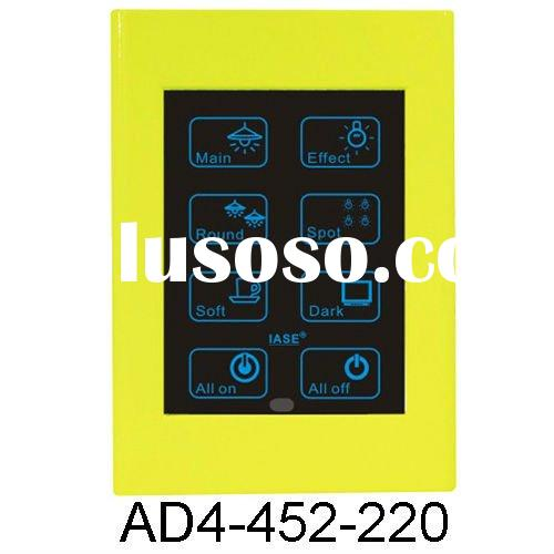 4 inch Touch Panel Remote Lamp Dimmer Control System
