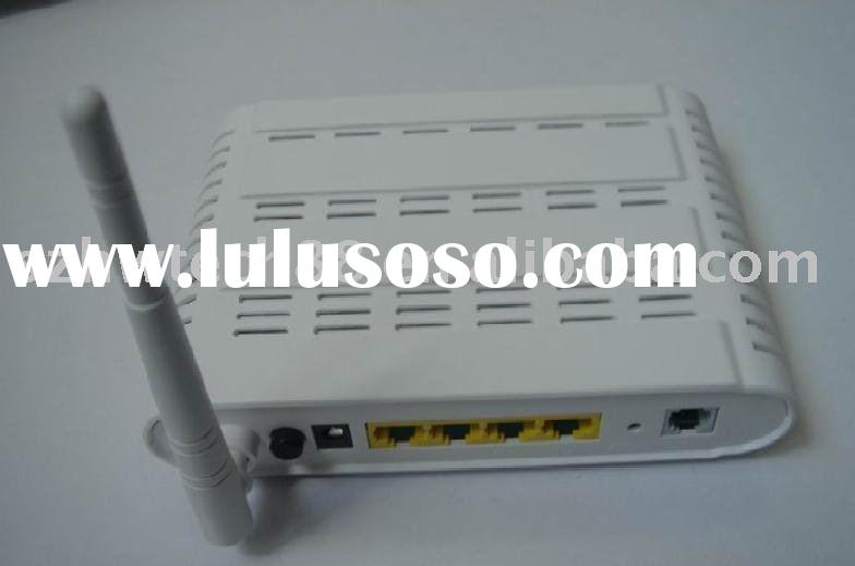 4 port wireless ADSL 2+ Modem/Router