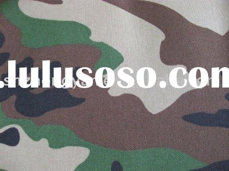 500d Cordura military uniforms camouflage fabric with pu coated