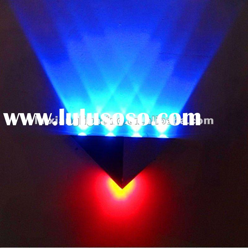 5W High Quality Aluminum Material RGB LED wall light