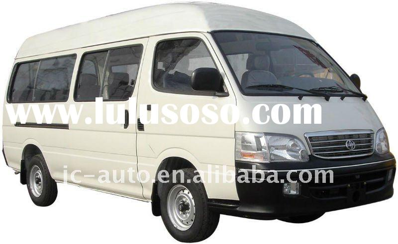 6-15 seats High roof, flat nose, lengthened JIncheng mini bus