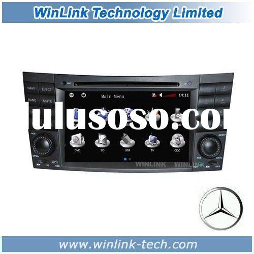 7 inch 2 din Car DVD GPS for Benz E-Class W211 (2002-2008)