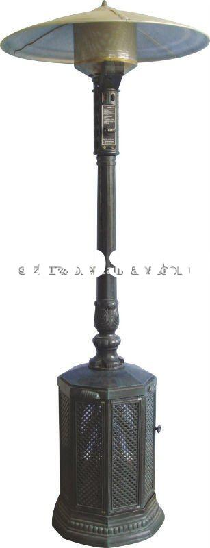 90.5 inches Tall Outdoor Heater- Blacklish green powder coated