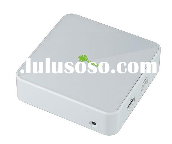 Android 2.3 OS freeview internet set top box with hdmi can skype msn