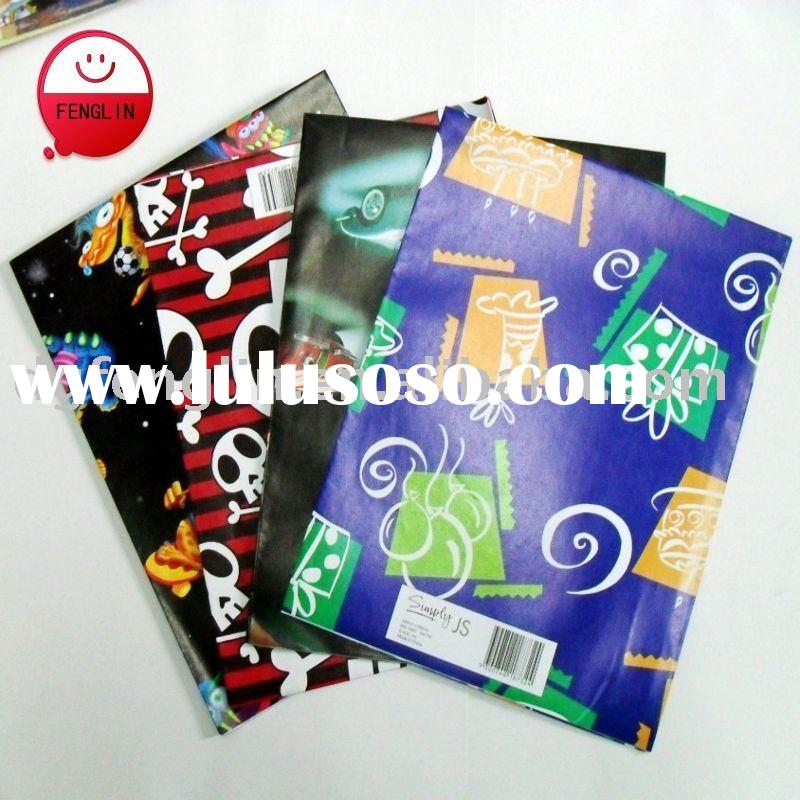 Attractive pattern printing gift wrapping paper