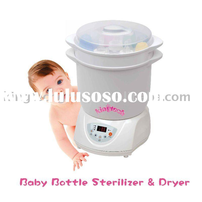 BPA Free Baby Bottle Sterilizer & Dryer (with LCD display and egg boiler function)