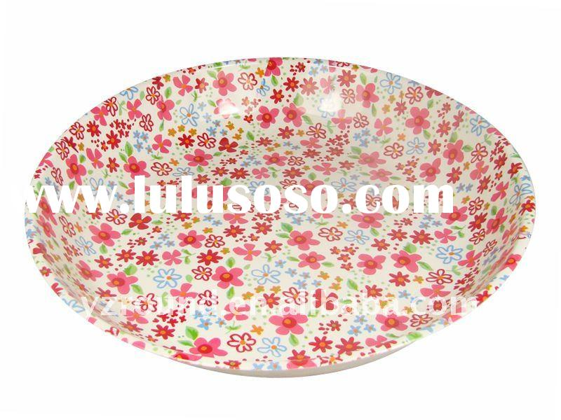 Best seller plastic home fruit dishes w/melon and fruit