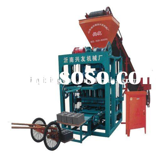 Best selling cement brick making machine: QTJ4-24A