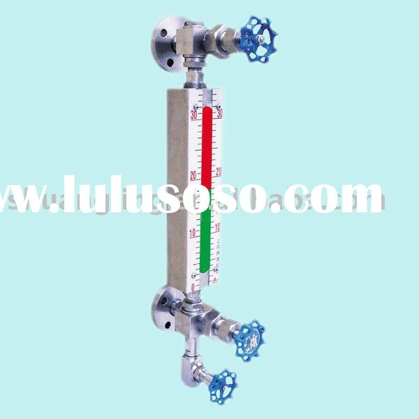 Bi-Color quartz glass tube level gauge