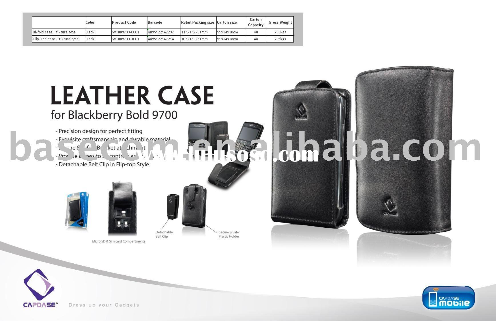 CAPDASE leather case protective case for BlackBerry Bold 9700