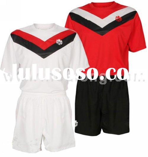Canada Custom Home/away Soccer jersey 2011
