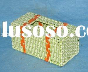 Cheap!2011 fashion design handmade rattan novelty tissue box