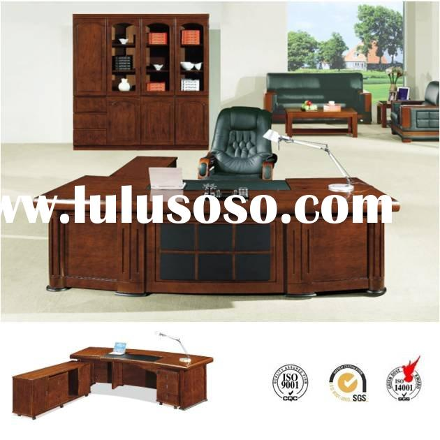 Wooden office furniture office desk a 0332 for sale for Inexpensive modern office furniture
