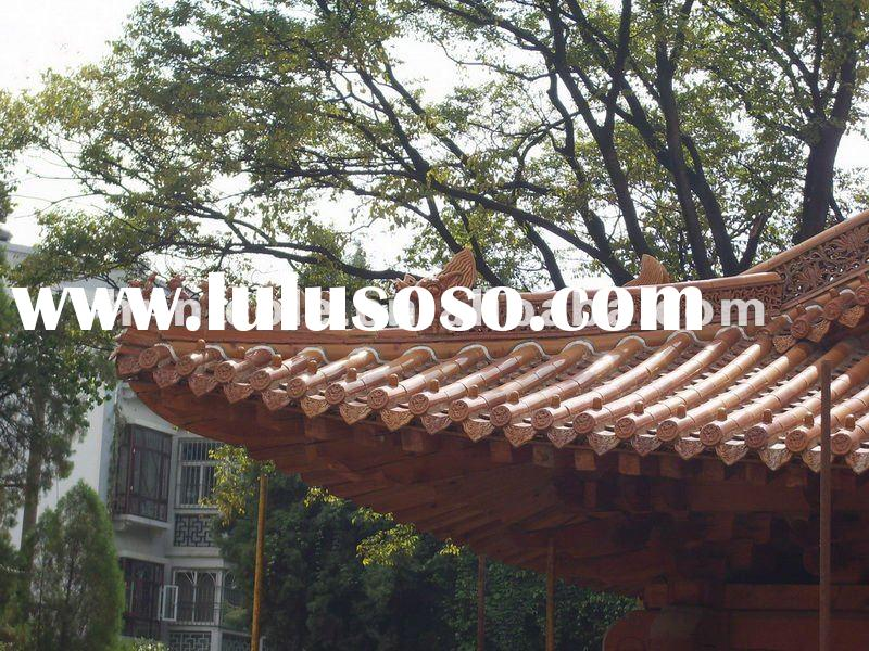 Chinese traditional roof tiles and roofing accessories