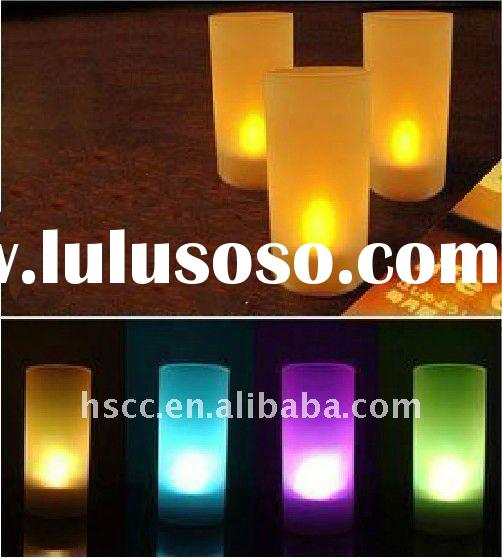 Color changing LED Christmas Candle Lights