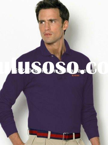 Custom Private Label Embroidery Logo 100% Organic Cotton Polo Shirt for Men