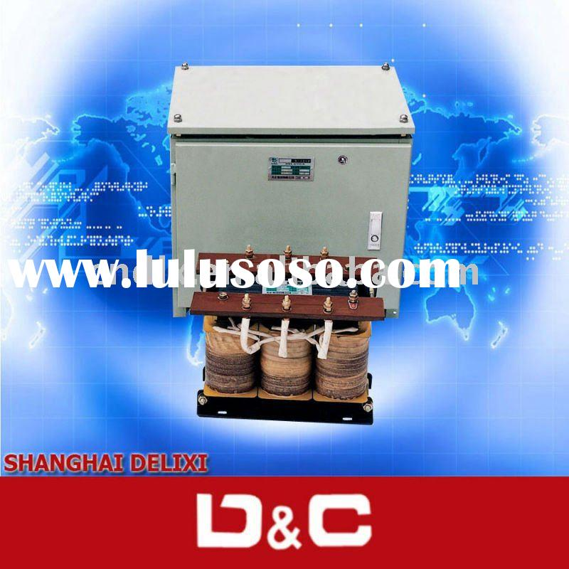 DELIXI SG/SBK series three phase dry type isolation transformer with metal enclosure
