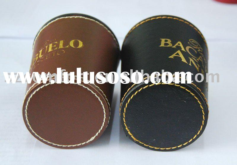 Dice cup, cacho game set, poker dice set