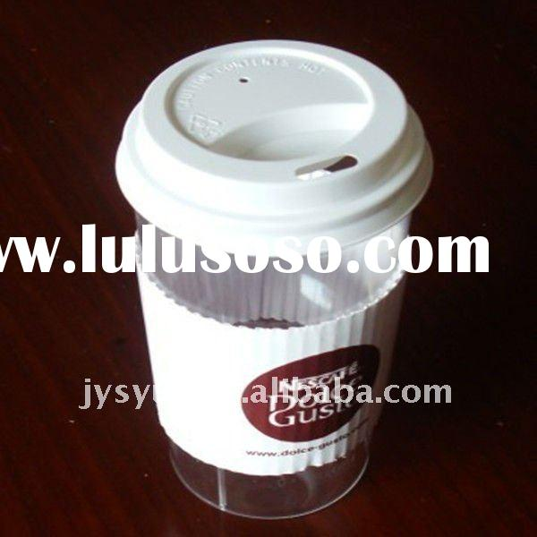 Disposable Coffee Cups with Paper Grip