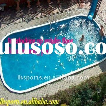 Eco-friendly quick install and easy clean antislip waterproof pp floor for swimming pool
