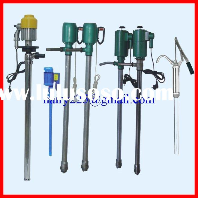Electric Drum Pump for diesel oil, gasoline and chemicals made of stainless steel