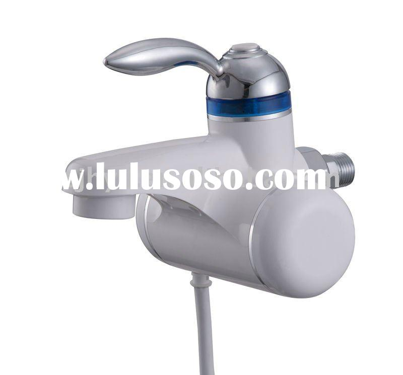 U Type Chrome Electric Water Heater Mixing Valve Single: Kitchen Faucet Aerator OH-A-8006 For Sale