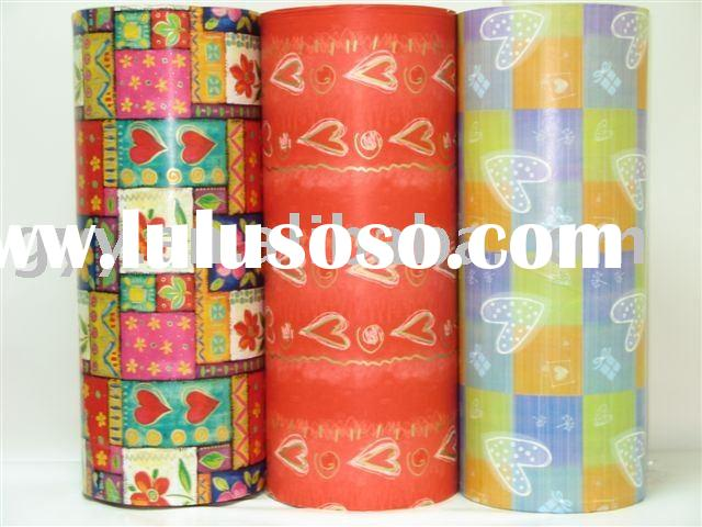 Fashion gift wrapping paper