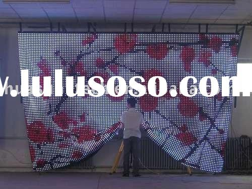 Flexible LED Curtain display