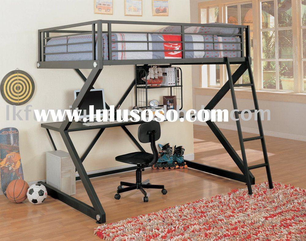 Nenny Bunk Bed With Desk Metal Info