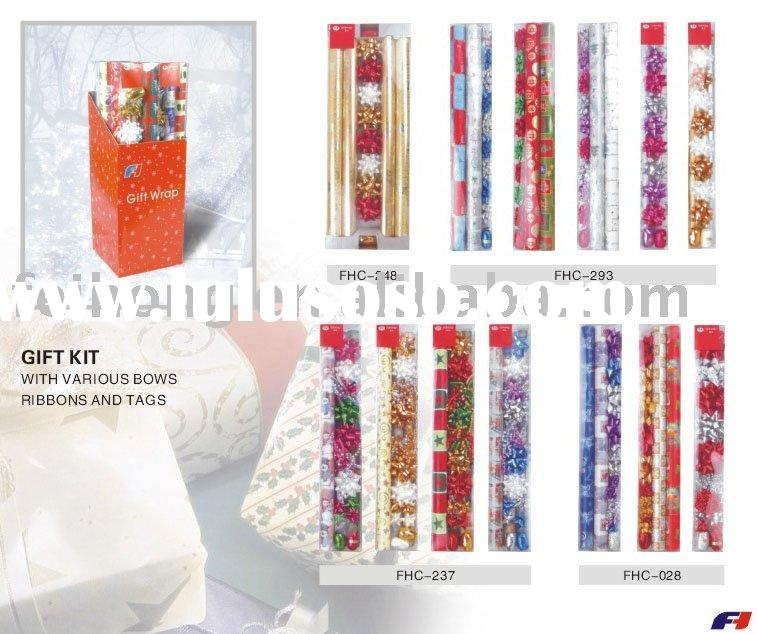 gift kit wrapping paper