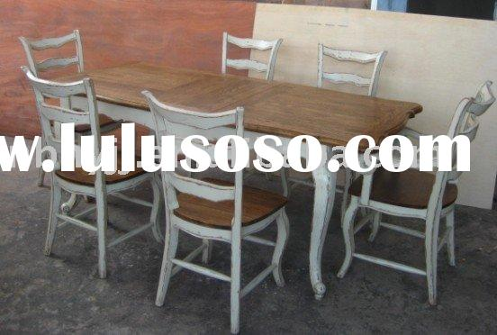 H08000 solid wood dining table